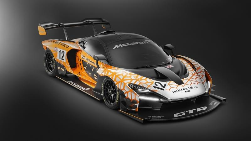 McLaren Senna Goes Wild with GTR Concept in Geneva