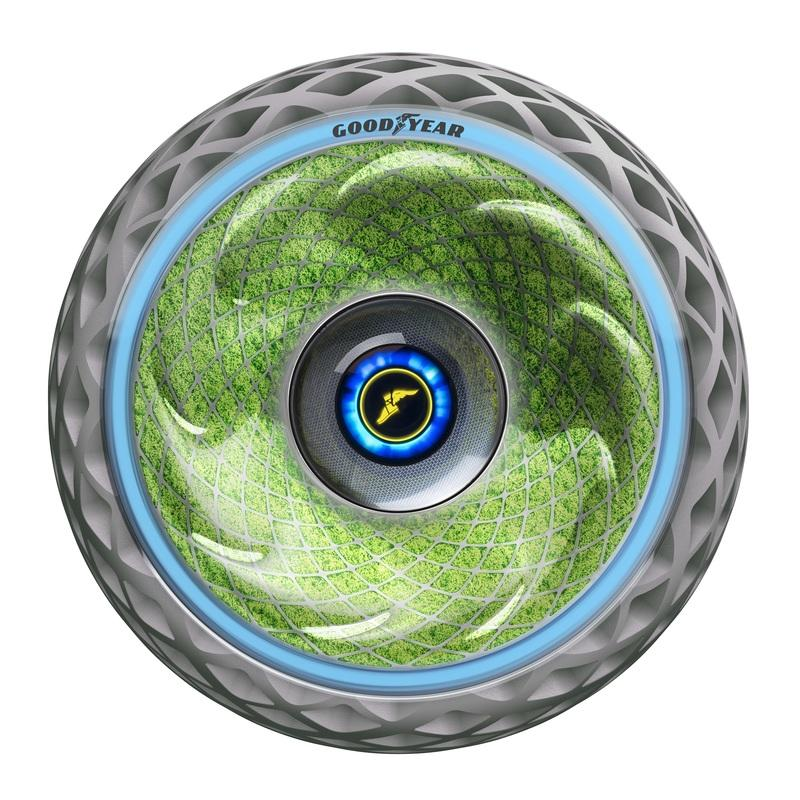 Meet the Goodyear Oxygene, the Tire That Makes Oxygen!