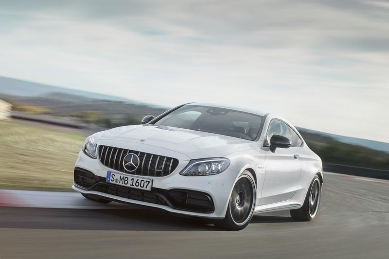 2019 Mercedes-AMG C 63 Coupe Exterior Wallpaper quality - image 775361