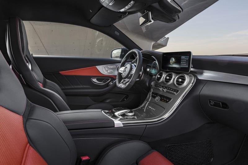 2019 Mercedes-AMG C 63 Coupe Interior - image 775364
