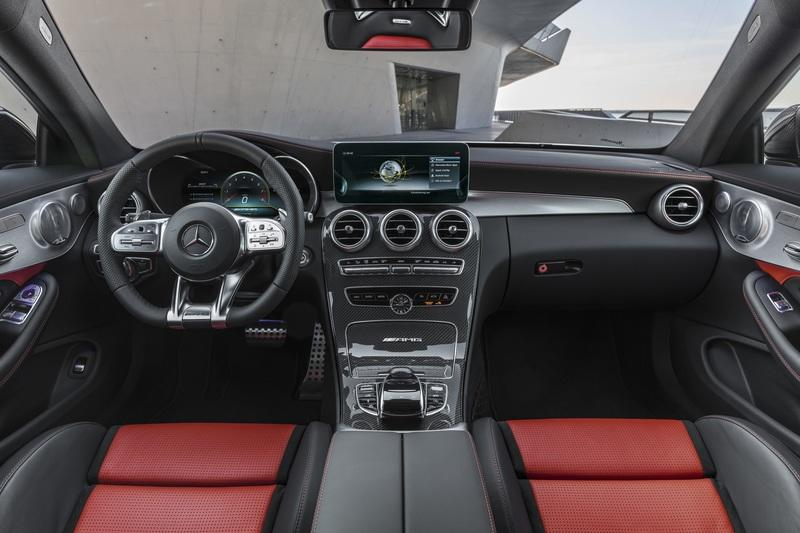2019 Mercedes-AMG C 63 Coupe Interior - image 775365