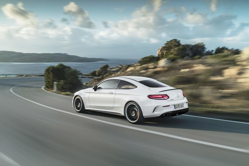 2019 Mercedes-AMG C 63 Coupe Exterior Wallpaper quality - image 775357