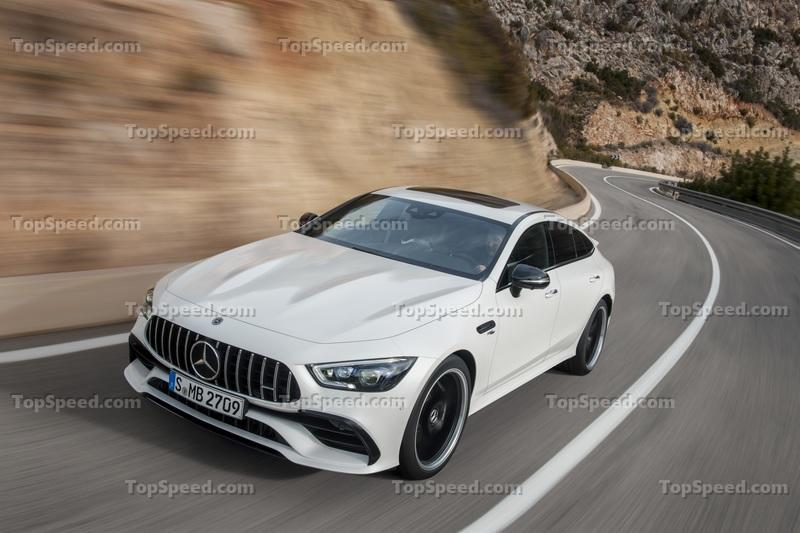 Mercedes Thinks the 2019 AMG GT Four-Door Coupe is Worth $137,000, But How Does that Stack Up to the Competition Exterior Wallpaper quality - image 772195