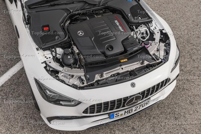 The Mercedes-AMG GT 4-Door Coupe is Here, and it's Basically a CLS With More Power Drivetrain - image 772202