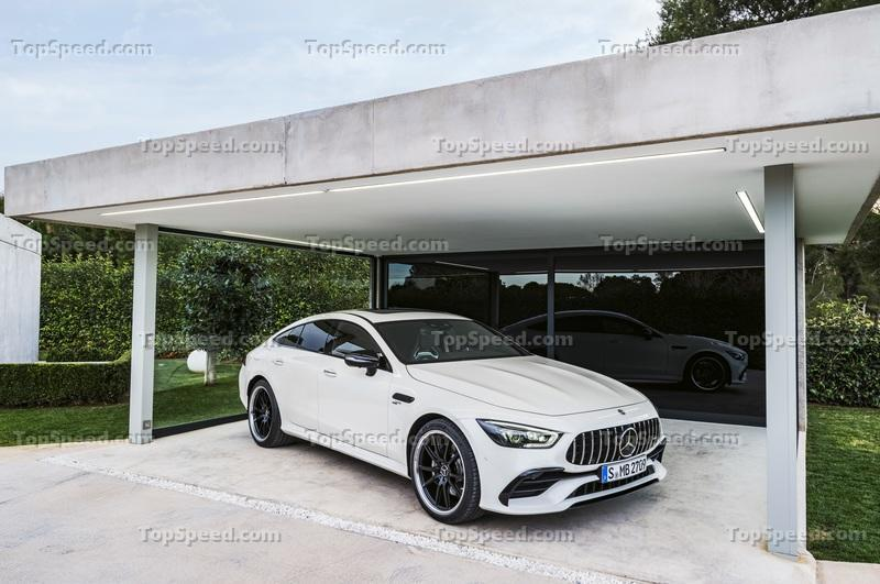 Mercedes Thinks the 2019 AMG GT Four-Door Coupe is Worth $137,000, But How Does that Stack Up to the Competition Exterior - image 772217