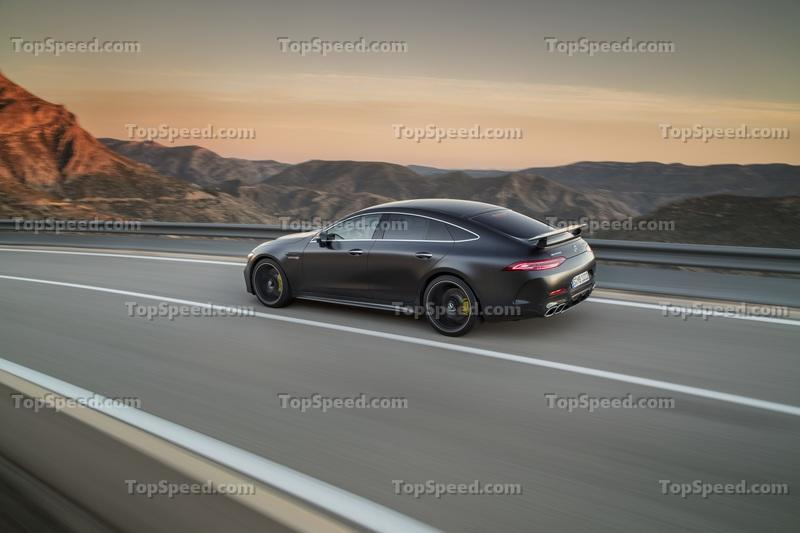 2019 Mercedes-AMG GT 4-Door Coupe Exterior Wallpaper quality - image 772220