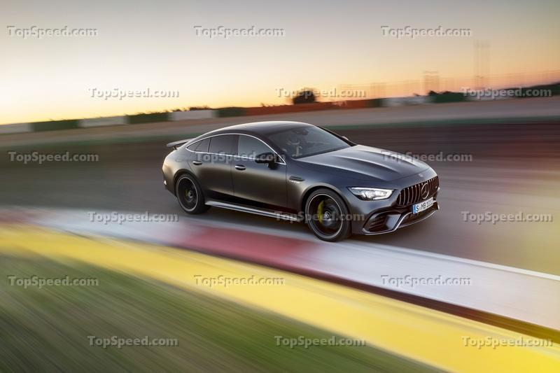 The Mercedes-AMG GT 4-Door Coupe is Here, and it's Basically a CLS With More Power Exterior Wallpaper quality - image 772224