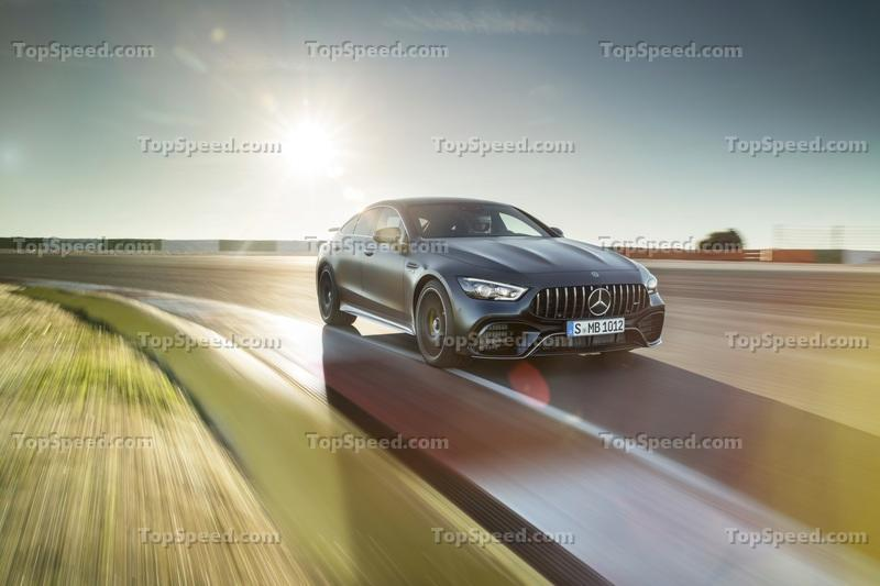 2019 Mercedes-AMG GT 4-Door Coupe Exterior Wallpaper quality - image 772225