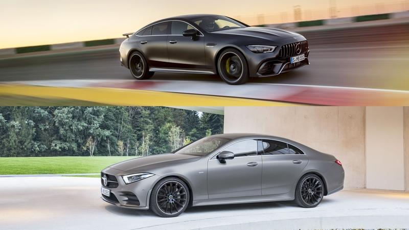 Mercedes-AMG GT 4-Door Coupe vs Mercedes CLS: Here's What Sets Them Apart
