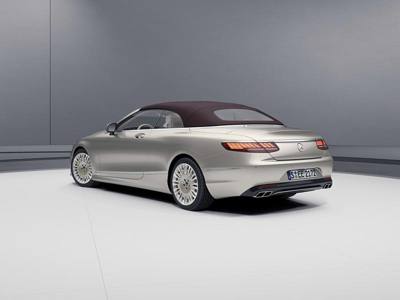 2018 Mercedes-Benz S-Class Coupe And Cabriolet Exclusive Edition