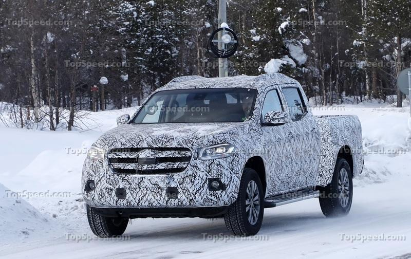 Does this Mercedes X-Class Mule Point to a new US Competitor for the Chevy Colorado and Ford Ranger?