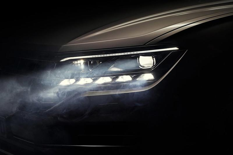 New Volkswagen Touareg Will Debut On March 23rd