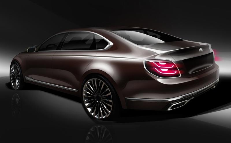 Kia's Teaser of the Next-Gen K900 Shows Us A Sign Of What's To Come