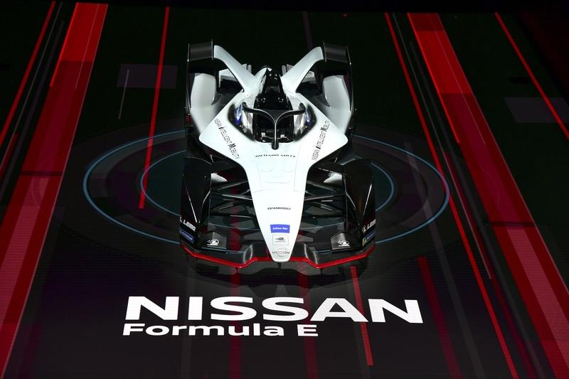 Nissan Shows Off Cool Formula E Nismo Livery in Geneva