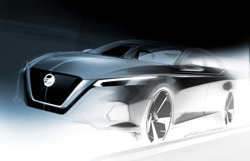 Nissan Teases the Next-Gen Altima Before it Debuts at the New York Auto Show