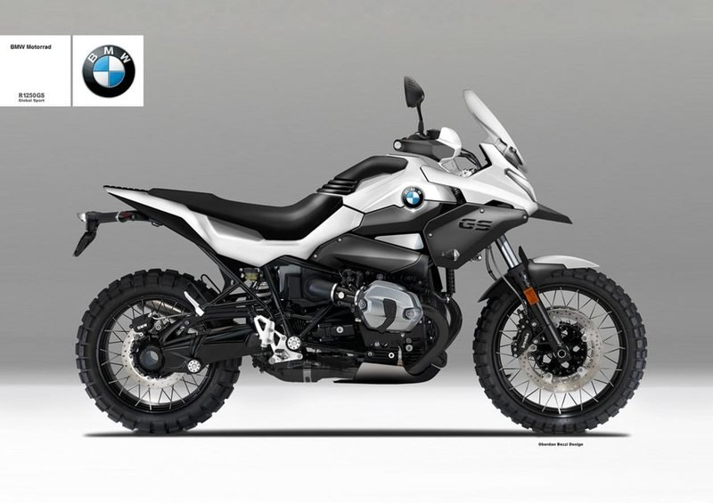 BMW R 1250 Global Sport rendered