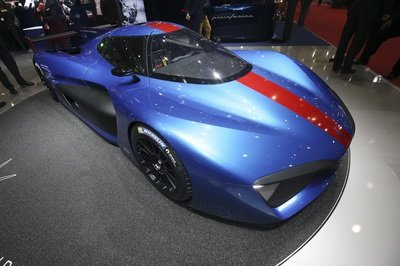 The Pininfarina H2 Speed Evolves from Simple Concept to Full-Blown, Hydrogen-Powered Racecar - image 772706
