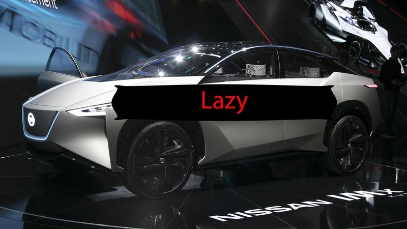 Pops' Rants: Lazy Car Design Auto Show Edition