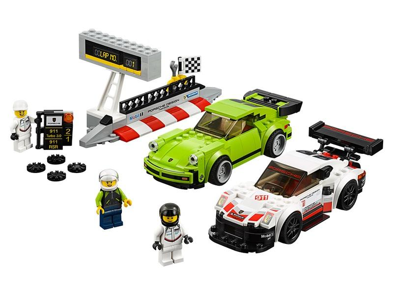 Porsche 911 RSR and Porsche 911 Turbo 3.0 Get Immortalized in LEGO