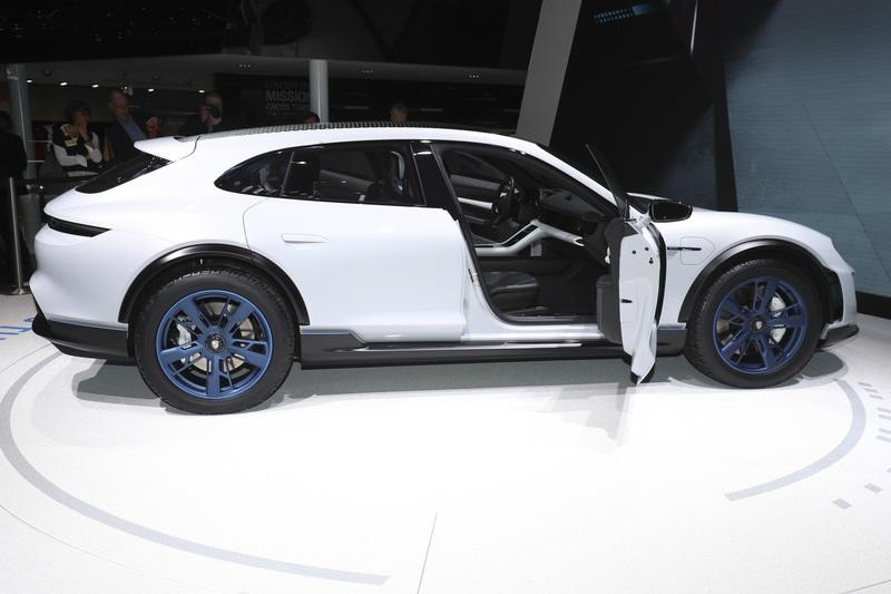 Porsche Aims At Tesla Again With An Electric SUV, Taycan