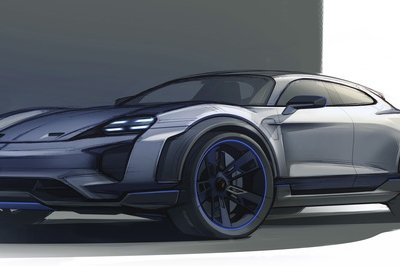 We Expected the Porsche Mission E in Geneva and Got a Hatchback – the E Cross Turismo Concept – Instead - image 772015