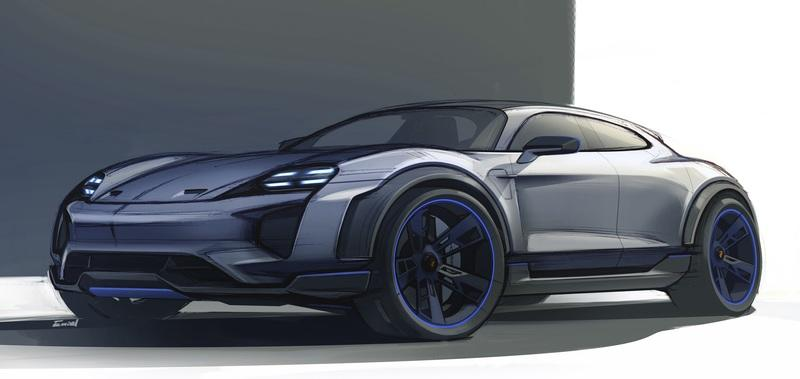 We Expected the Porsche Mission E in Geneva and Got a Hatchback – the E Cross Turismo Concept – Instead