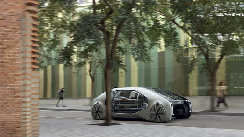 Renault Showcases the Future of Urban Travel with the EZ-GO Autonomous People Hauler Exterior - image 771972
