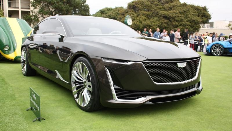 Report: Cadillac Could Take on the BMW 8 Series, Audi A8, and Porsche Panamera with a Production Version of Escala Concept