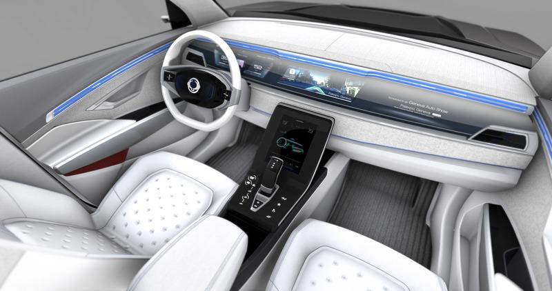 The e-SIV EV Shows what SSanYong is Capable of but Leaves a lot to be Desired Interior - image 772709