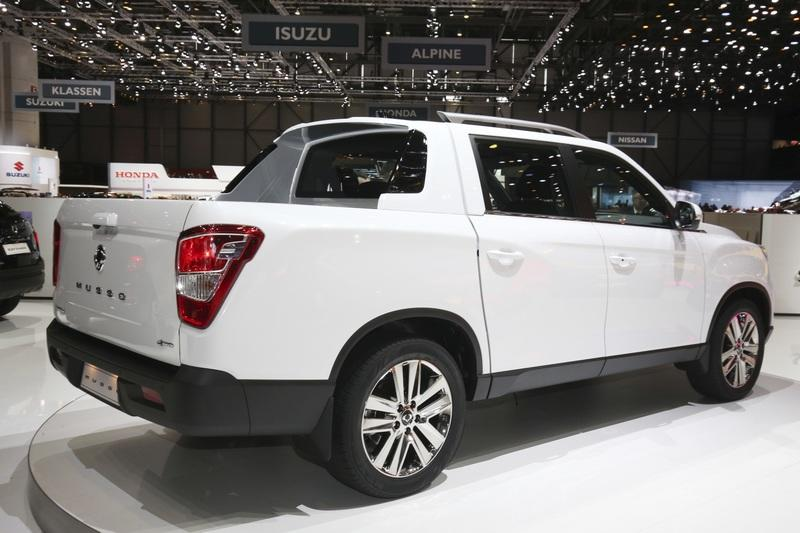 2018 SsangYong Musso Exterior - image 773061