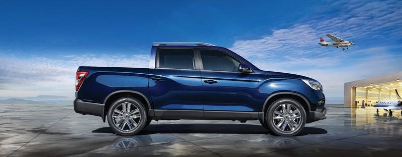 SsangYong Musso Pickup Comes to Attack European Market Exterior - image 772726