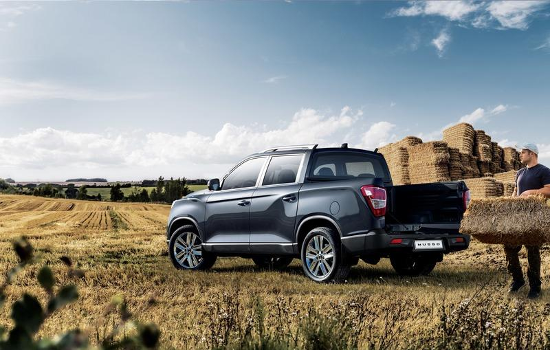 SsangYong Musso Pickup Comes to Attack European Market Exterior - image 772727