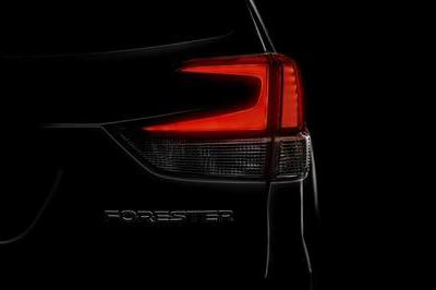 Subaru Teases the 2019 Forester Prior to its New York Debut in a Couple Weeks - image 774188