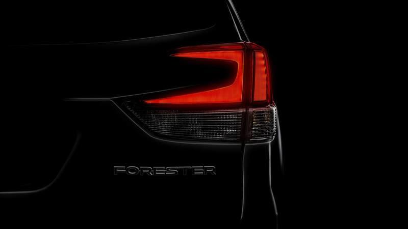 Subaru Teases the 2019 Forester Prior to its New York Debut in a Couple Weeks