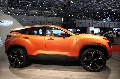 Tata H5X Concept Previews Land Rover-based SUV in Geneva - image 772932