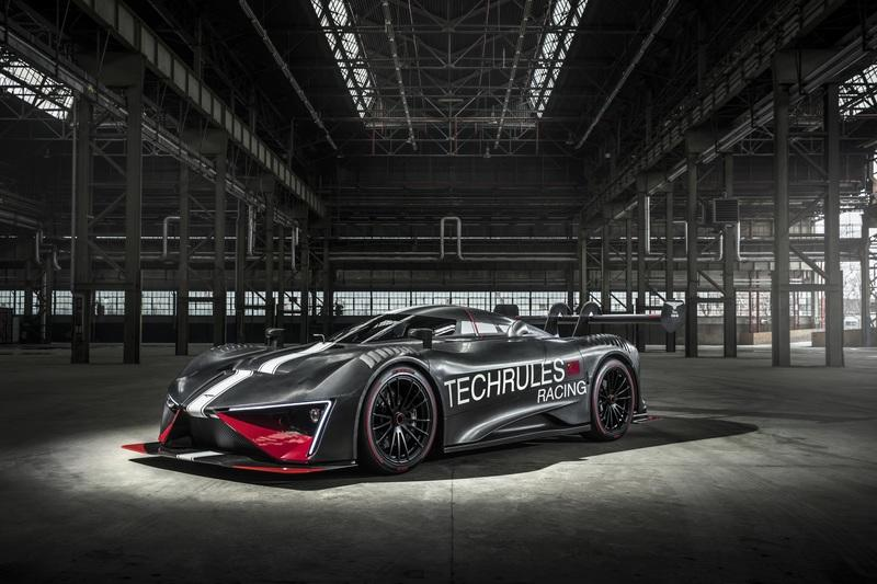 Radical Techrules Ren RS Storms into Geneva with Almost 1,300 HP