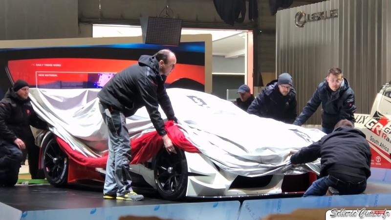 That Car Sitting Under The Sheets is The Toyota Supra Racing Concept