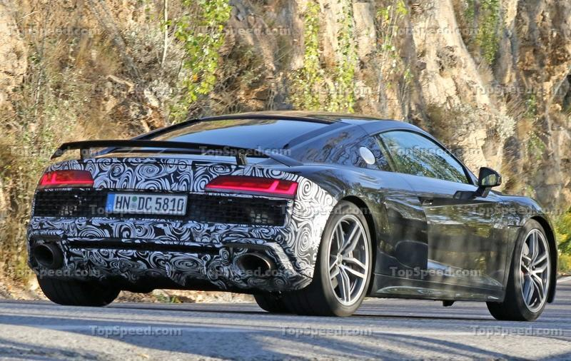 The Audi R8's Facelift will Include a New Entry-Level Model with the Same 2.9-liter V-6 Found in the Porsche Panamera and Audi RS5