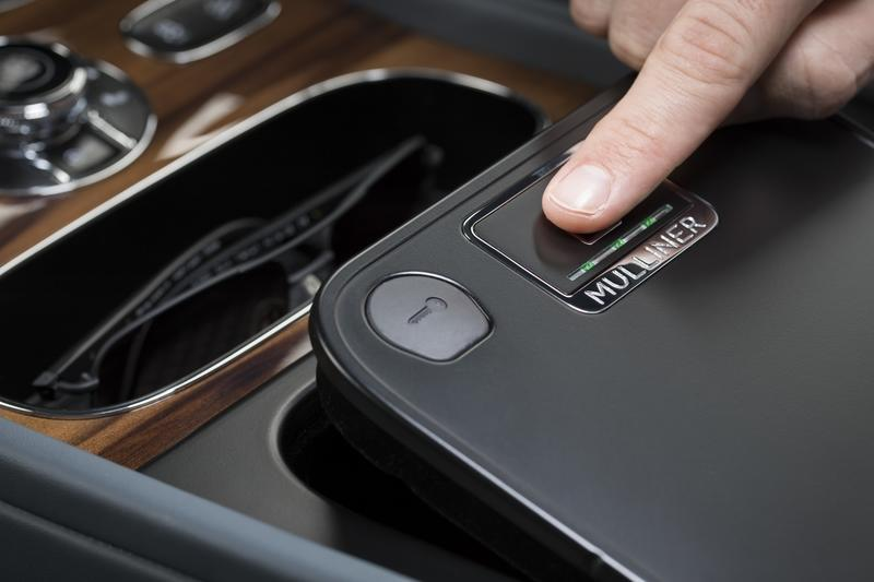 The Bentley Bentayga Now Comes with the Tiniest Little Biometric Safe