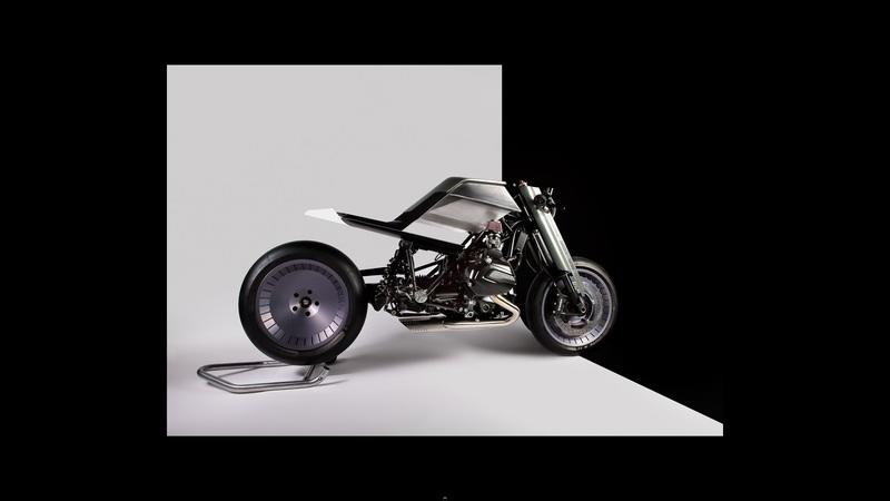 The Digimoto. Showing how future motorcycles should be built Exterior - image 773711
