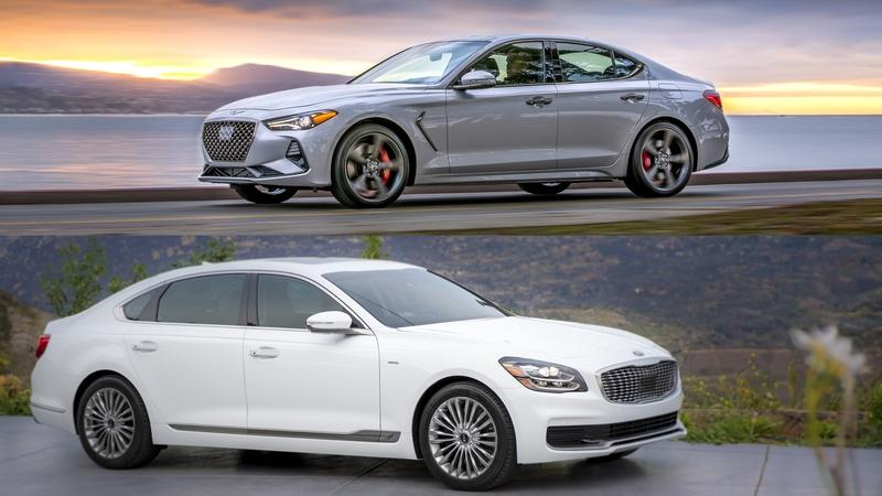 The Genesis G70 Thrives Where The Kia K900 Struggles