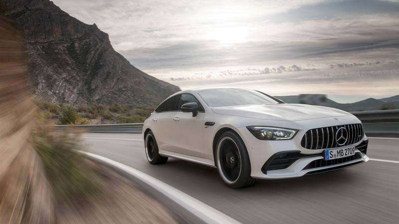 The Mercedes-AMG GT 4-Door Coupe is Here, and it's Basically a CLS With More Power