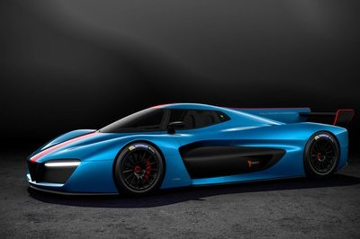 The Pininfarina H2 Speed Evolves from Simple Concept to Full-Blown, Hydrogen-Powered Racecar - image 772852