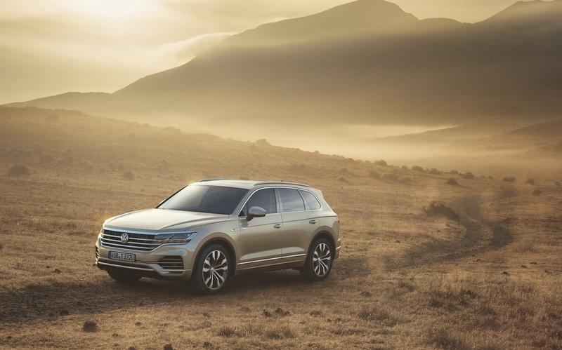 The Volkswagen Touareg is Here, and It Puts the BMW X5 and Mercedes GLE to Shame Exterior Wallpaper quality - image 774929