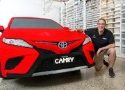 Lego Builds A Life-Size Toyota Camry Out Of Plastic Bricks and it's the Best Full-Scale Build Yet - image 774820