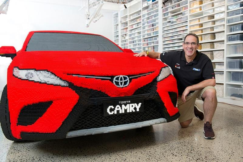 Lego Builds A Life-Size Toyota Camry Out Of Plastic Bricks and it's the Best Full-Scale Build Yet