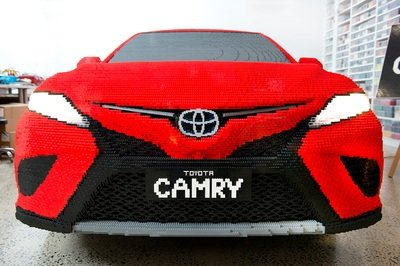 Lego Builds A Life-Size Toyota Camry Out Of Plastic Bricks and it's the Best Full-Scale Build Yet - image 774821