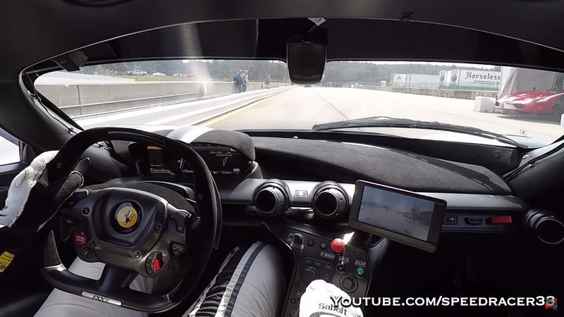 Video of the Day: Ferrari FXX K Running Road Atlanta