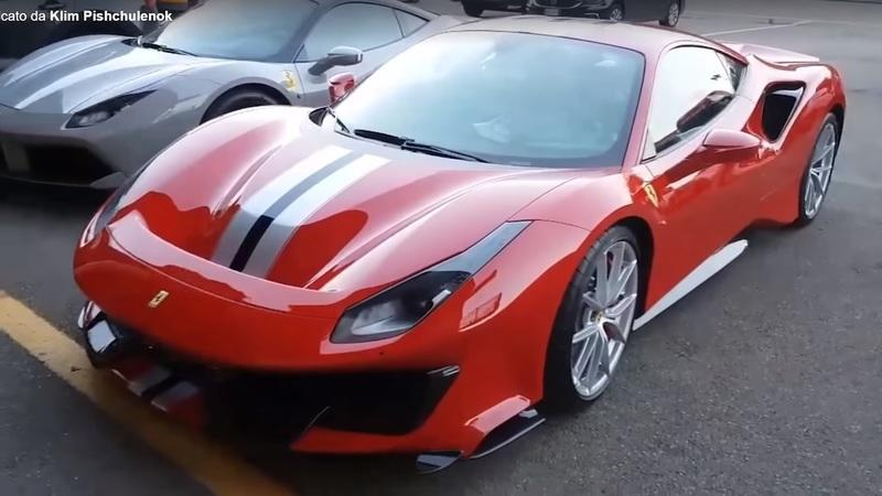 Video of the Day: Ferrari 488 Pista in the Wild, Bare Ass Naked