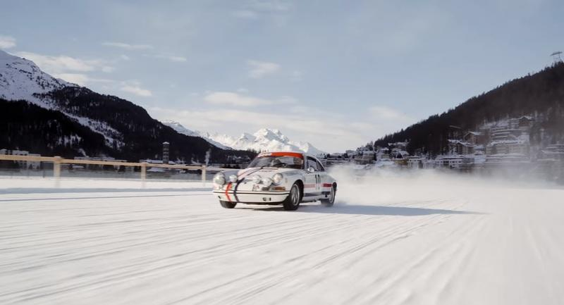Video of the Day: Ice ballet on the frozen lake of St. Moritz
